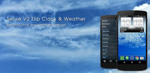 Sense V2 Flip Clock & Weather 5.91.10 (Premium)