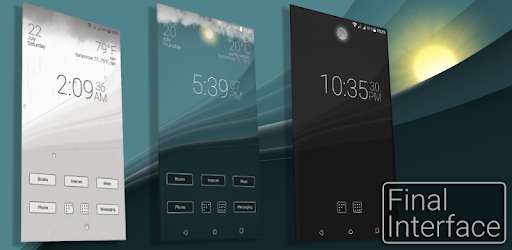 Final Interface – launcher + animated weather v3.0.8 (Premium)