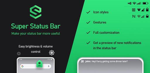 Super Status Bar MOD APK 2.8.1 (Premium SAP)