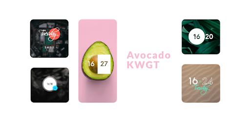 Avocado KWGT MOD APK 2021.Apr.27.01 (Paid)
