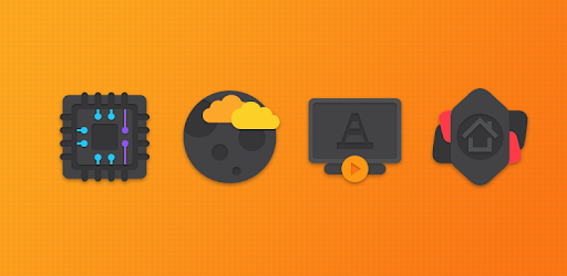 Crispy Dark – Icon Pack 3.0.0 (Patched)