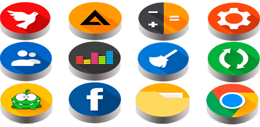 Pixel Pie 3D – Icon Pack 4.7 (Patched)