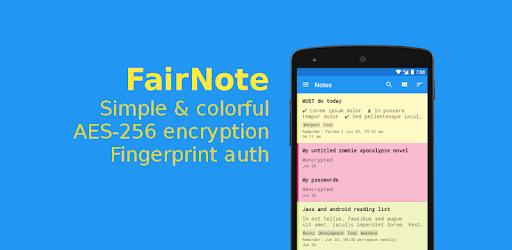 FairNote Notepad MOD APK 4.0.5 (Pro)