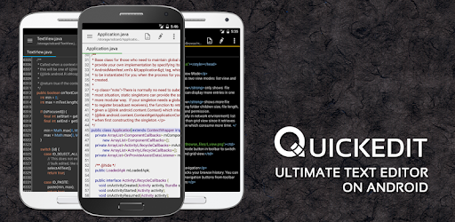 QuickEdit Text Editor MOD APK 1.8.2 build 172 (Paid Pro Patched)