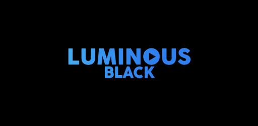 Luminous Black MOD APK v3 Skin 5.5 (Paid)