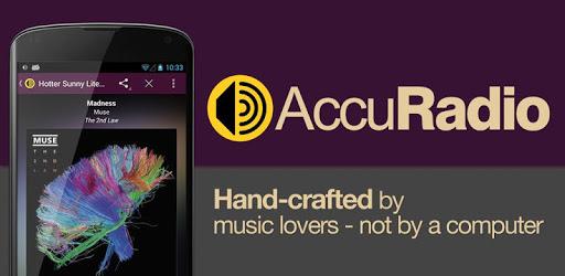 AccuRadio MOD APK 2.4.3 (AdFree)