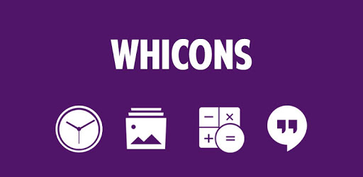 Whicons – White Icon Pack 21.5.6