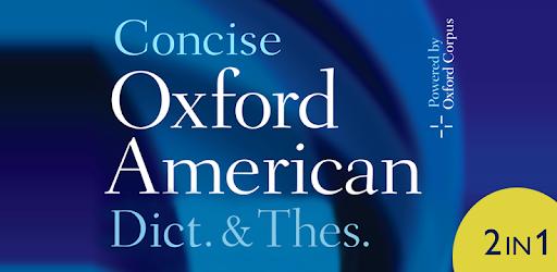 Concise Oxford American Dictionary & Thesaurus 11.7.717 (Premium SAP)