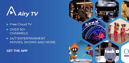 Airy TV MOD APK 2.11.8gcR (AdFree)