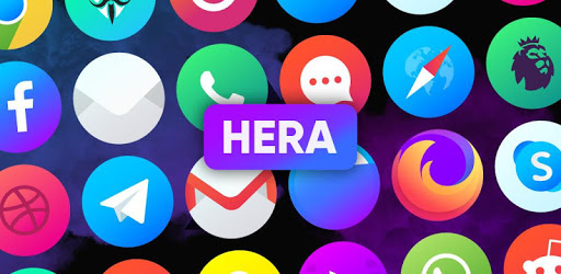 Hera Icon Pack – Circle Icons 5.4 (Patched)