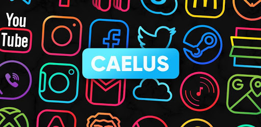 Caelus Icon Pack – Colorful Linear Icons 3.4 (Patched)