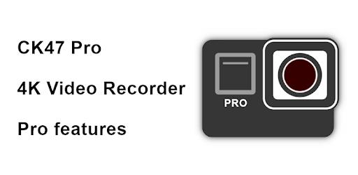 CK47 Pro video recorder (4K) 2021.13