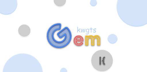 GeM Kwgt MOD APK 23.2 (Paid)
