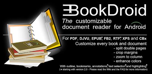 EBookDroid – PDF & DJVU Reader 2.7.4-rc-01