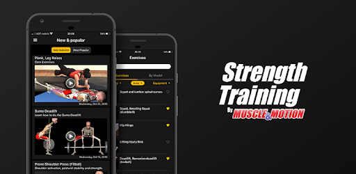Strength Training by Muscle & Motion 2.2.14 (Premiuim)