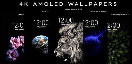4K AMOLED Wallpapers – Live Wallpapers Changer v1.6.5 (Pro)