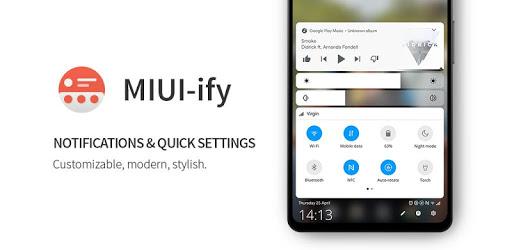 MIUI-ify – Notification Shade & Quick Settings v1.8.12 (Premium-Mod)