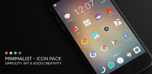 Minimalist – Icon Pack 4.6 (Patched)
