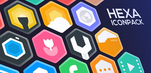 Hexa Icon Pack : Hexagonal v2.5 (Patched)