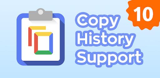 Copy History Support MOD APK 4.6 (Unlocked)