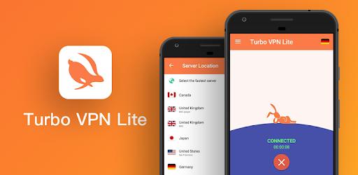 Turbo VPN Lite- Free VPN Proxy Server & Fast VPN 3.5.5.2 (AdFree)