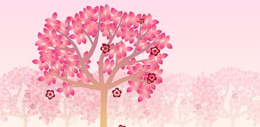 Falling Flowers Red – Live Wallpaper v1.0.0