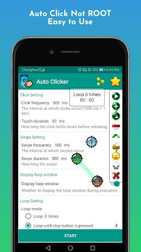 Auto Clicker pro - Tapping 3.6.2 (Paid)   DLPure.com