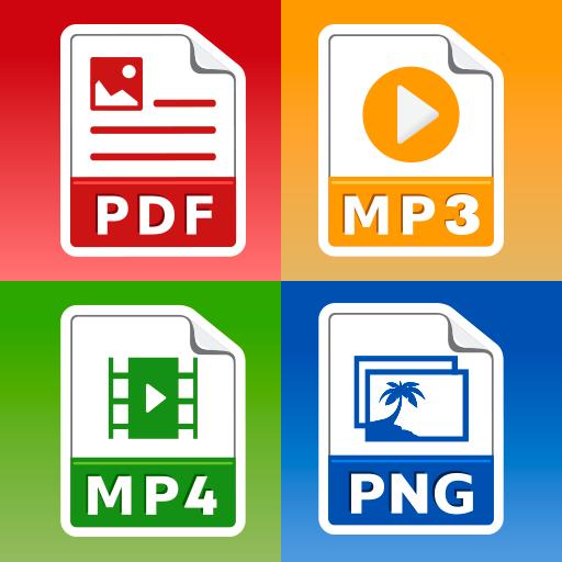 All Files Converter -PDF, DOC, JPG, GIF, MP3, AVI 45 (PRO)