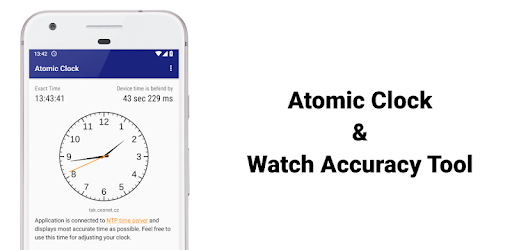 Atomic Clock & Watch Accuracy Tool (with NTP Time) 1.6.11 (Platinum)