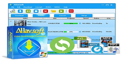 Allavsoft Video Downloader Converter v3.22.7.7505 (KeyGen – Multilingual)