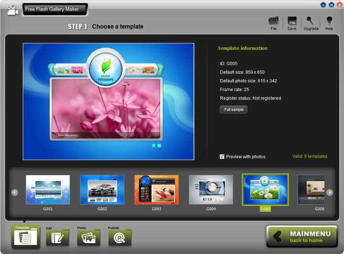 Amazing Flash Gallery Maker v2.5.0 (Cracked)