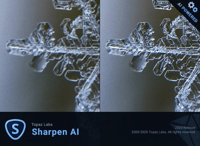 Topaz Sharpen AI Crack v3.0.3 (x64)