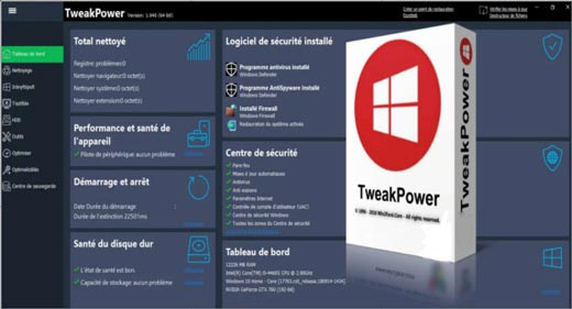 TweakPower Pro v1.173 (Multilingual)