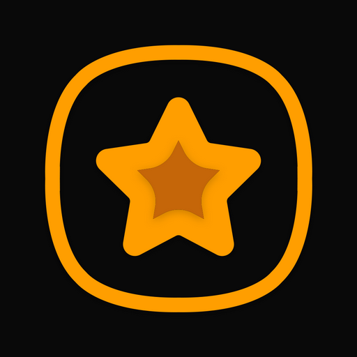 OneUI Horux Black – Icon Pack 2.5 (Patched)