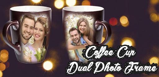Coffee Cup Dual Photo Frame v1.0.2 (AdsFree)