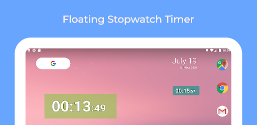 Floating Stopwatch, free multitasking timer v5.1 (Mod)