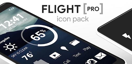 Flight – Flat Minimalist Icons (Pro Version) v3.3.1 (P)