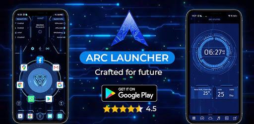 ARC Launcher 2020 3D Launcher,Themes,App Lock,DIY 44.9 (Premium)