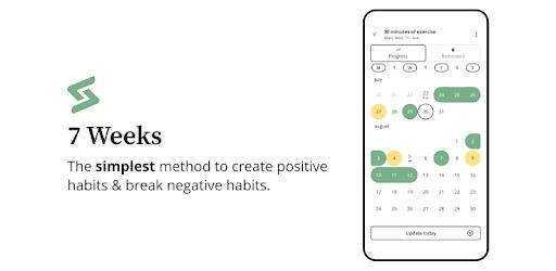 7 Weeks – Simplest Habit and Goal tracking v4.0.2 (Premium)