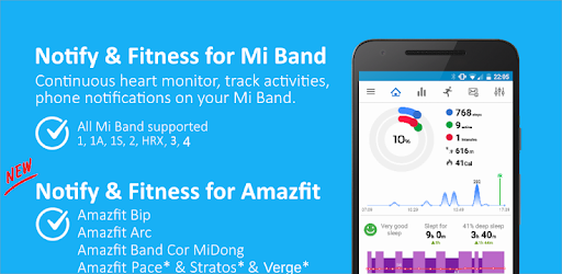 Notify & Fitness for Mi Band 12.7.4 (Pro)