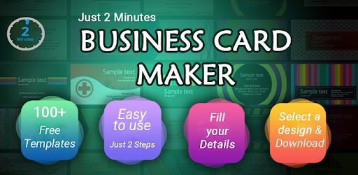 Business Card Maker Free Visiting Card Maker photo 8.3 (Pro)