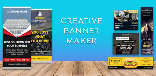 Banner Maker,Web Banner Ads, Roll Up Banners 30.0 (PRO)