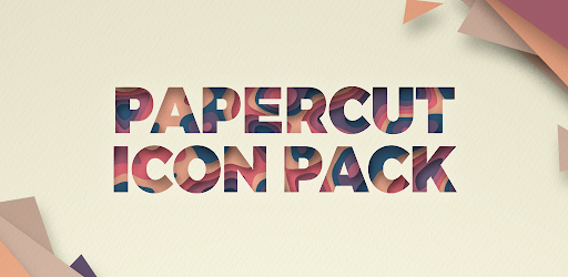 Paper Cut Icon pack New 1.0.12 (Patched)