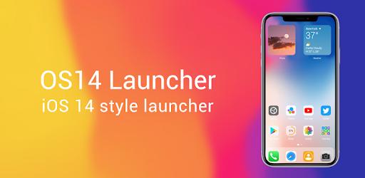 OS14 Launcher, Control Center, App Library i OS14 14 2.7 (Pro)