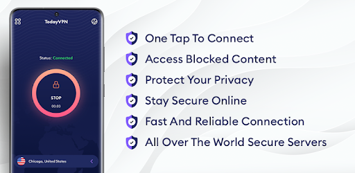 Today VPN – Free VPN Proxy – Unlimited VPN 1.5.6 (PRO)