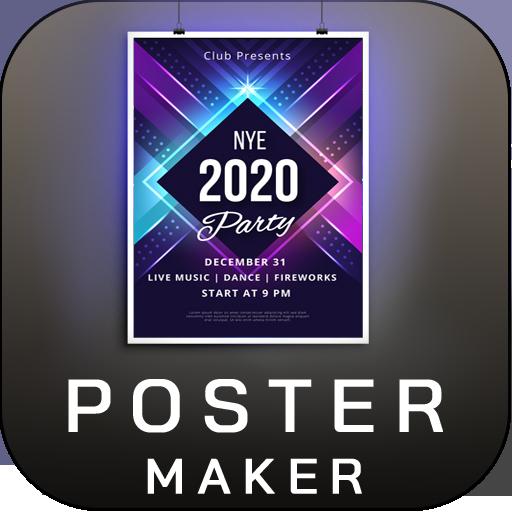 Poster Maker Flyer Maker 2021 free graphic Design 7.4 (Premium Modded)