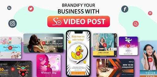 Social Media Video Post Maker & Video Story Maker 30 (PRO)