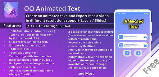 Animated Text Creator MOD APK 4.0.9 (AdFree)