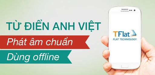 English Vietnamese Dictionary TFlat 7.7.3 (VIP)