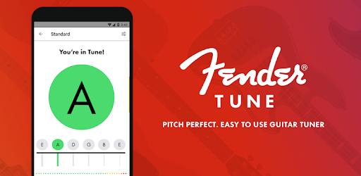 Free Guitar Tuner – Fender Tune v4.0.0 (Unlocked)